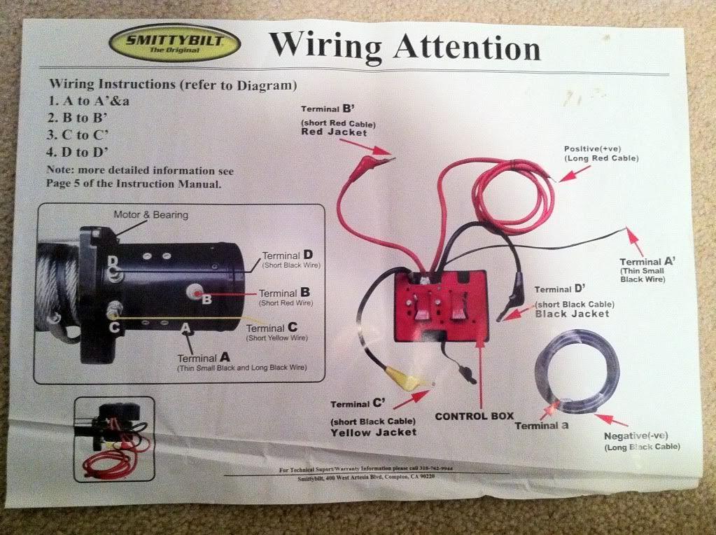 mile marker winch wiring diagram  wiring site resource