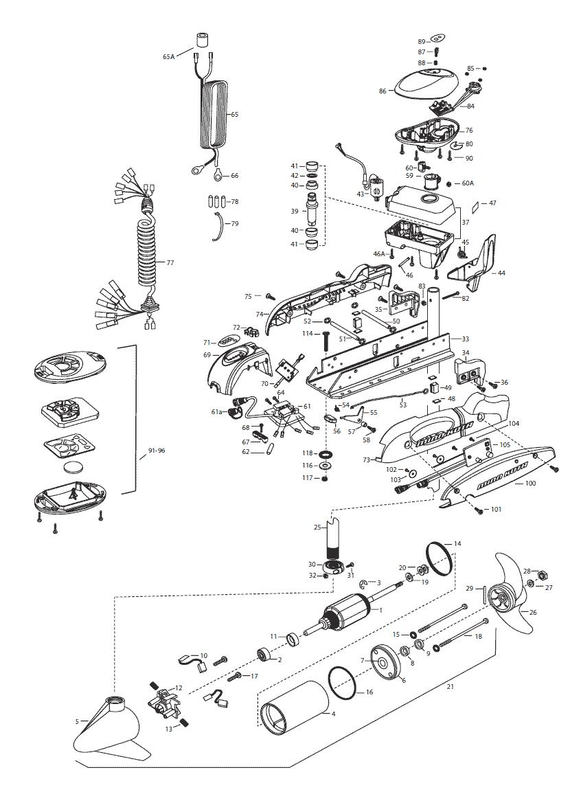 minn kota terrova wiring diagram