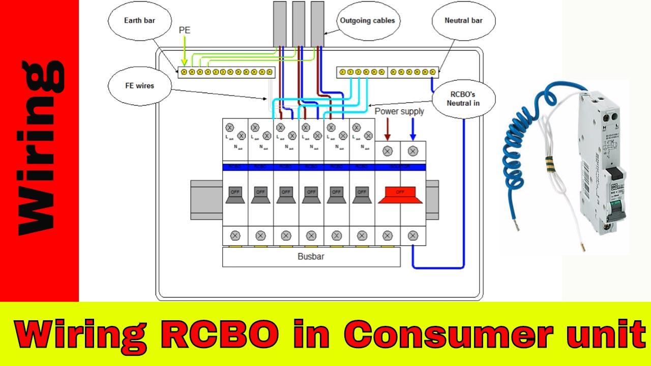 Mk Consumer Unit Wiring Diagram