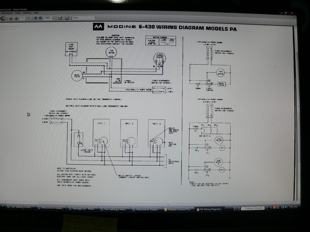 modine-gas-unit-heater-wiring-diagram-4 Unit Dayton Diagram Wiring Heater E A on
