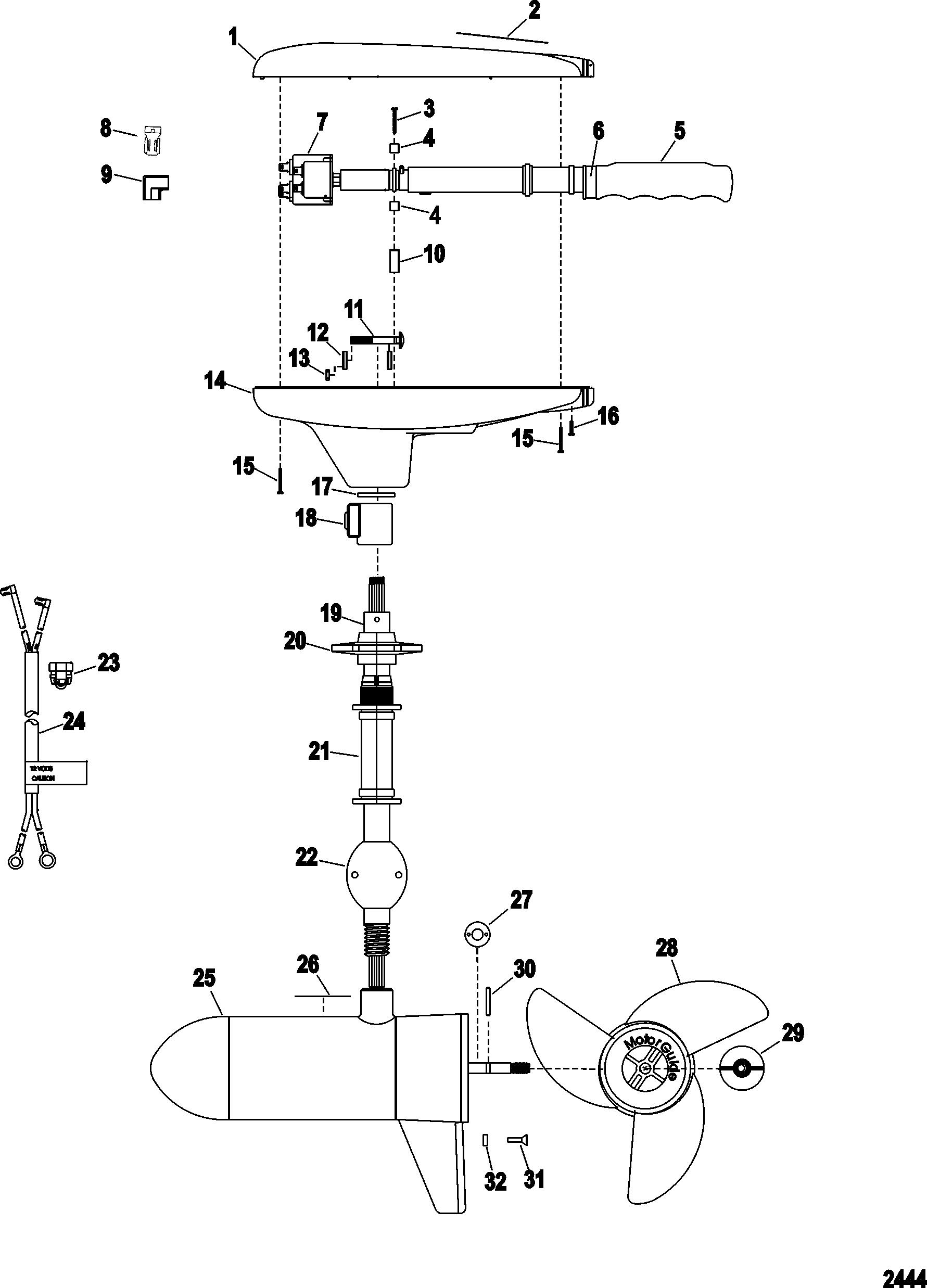 12 24v Trolling Motor Plug Wiring Diagram