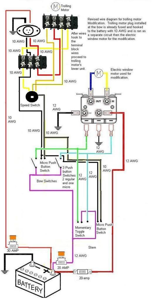Motorguide Foot Pedal Wiring Diagram - Wiring Diagram Value
