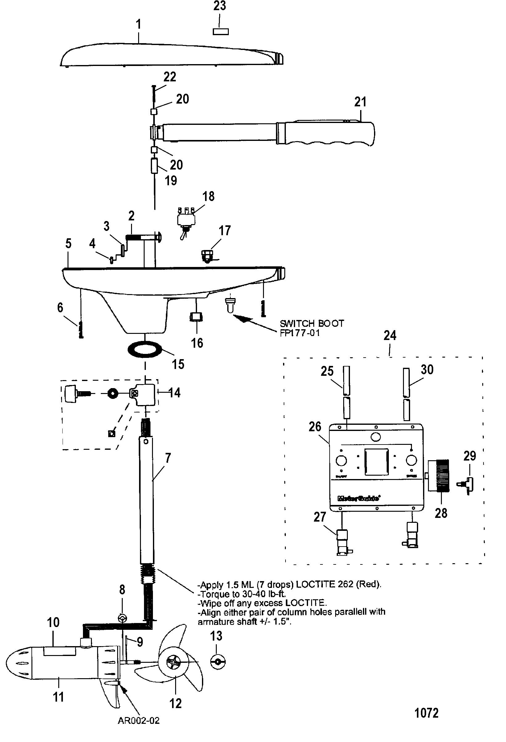 Motorguide Brute Trolling Motor Wiring Diagram