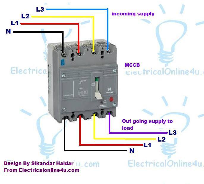 Motorized Mccb Wiring Diagram