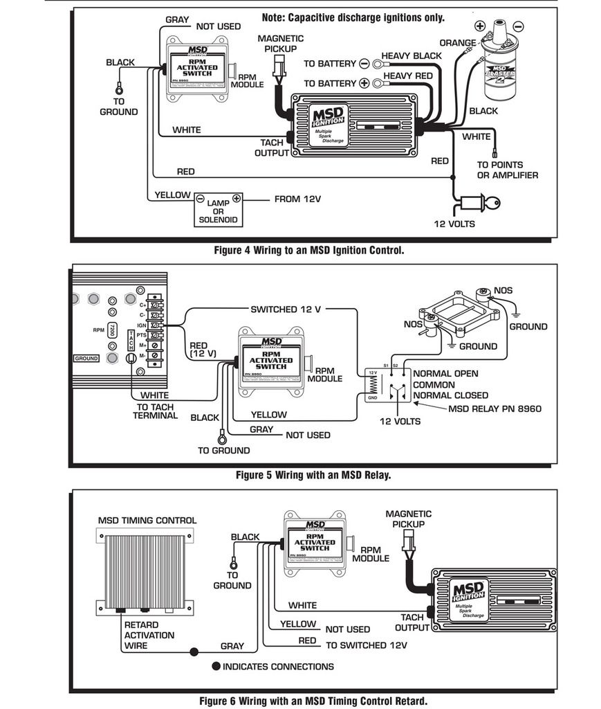 msd 5 wiring diagram using points trigger msd 6al wiring diagram dodge 5 2l magnum