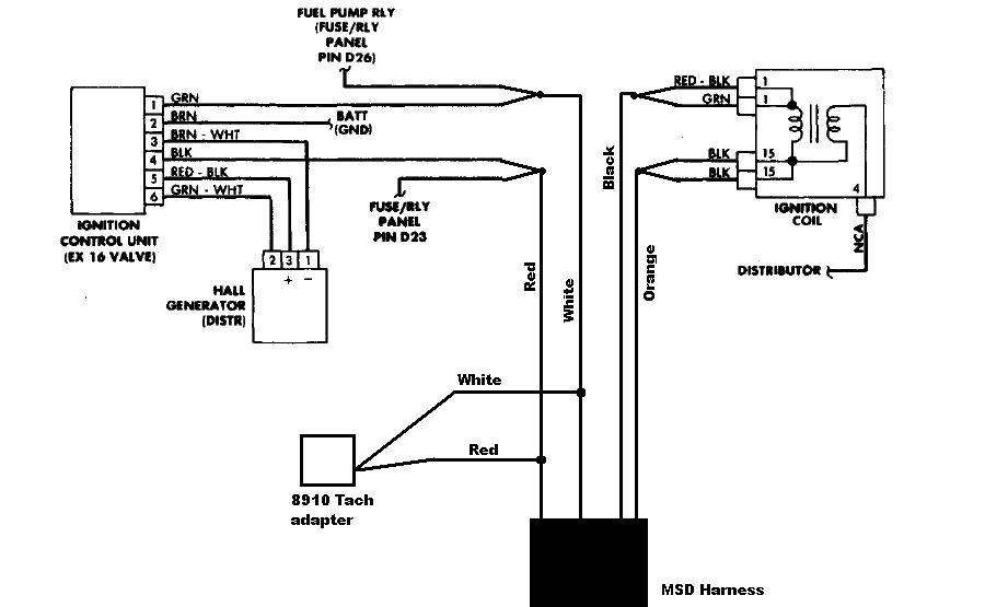 msd 6400 wiring diagram. Black Bedroom Furniture Sets. Home Design Ideas