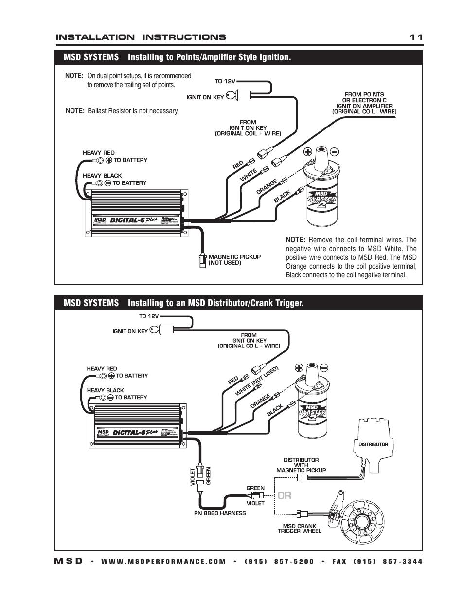 34 Msd Digital 6al Wiring Diagram