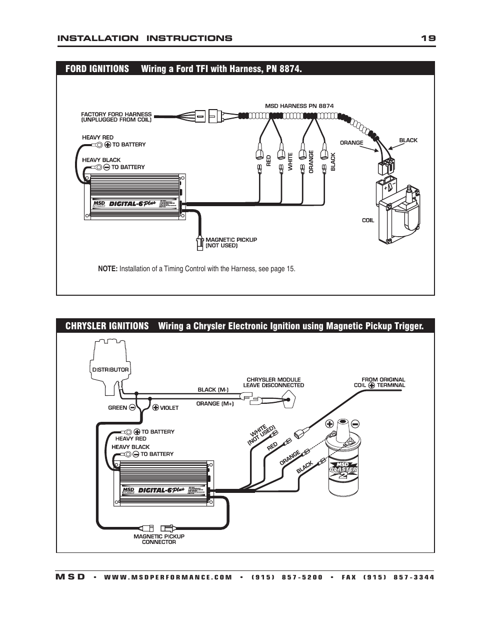 Msd 6al Wiring Diagram Mopar - Catalogue of Schemas Oem Chrysler Electronic Ignition Wiring Diagram on