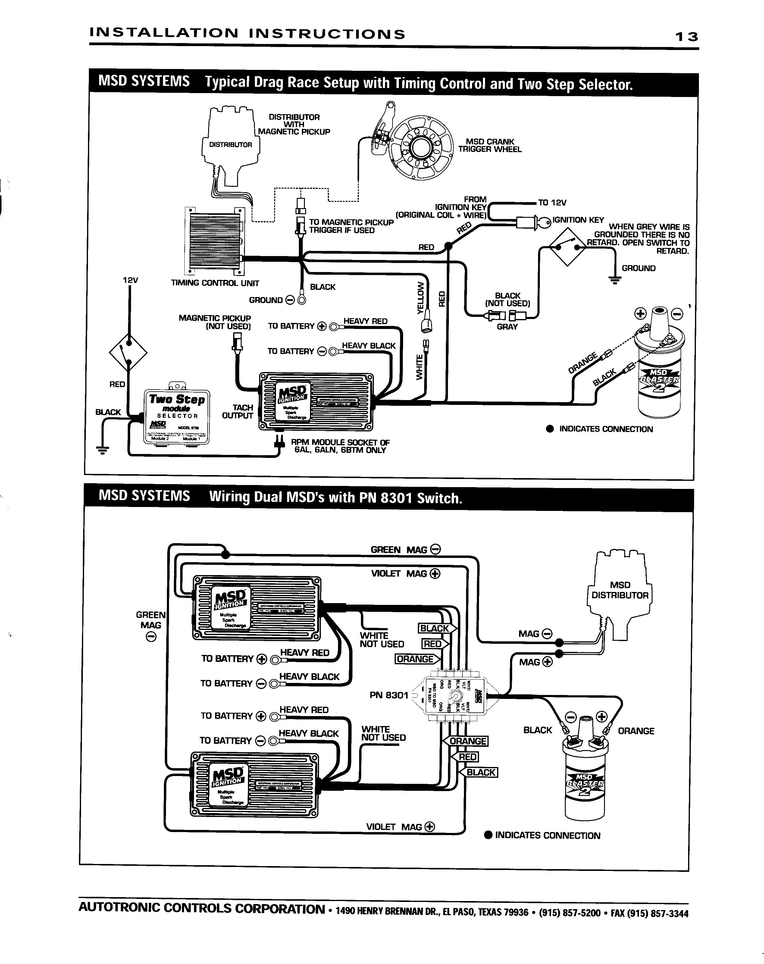 Msd 6Al Wiring Diagram Hei from schematron.org