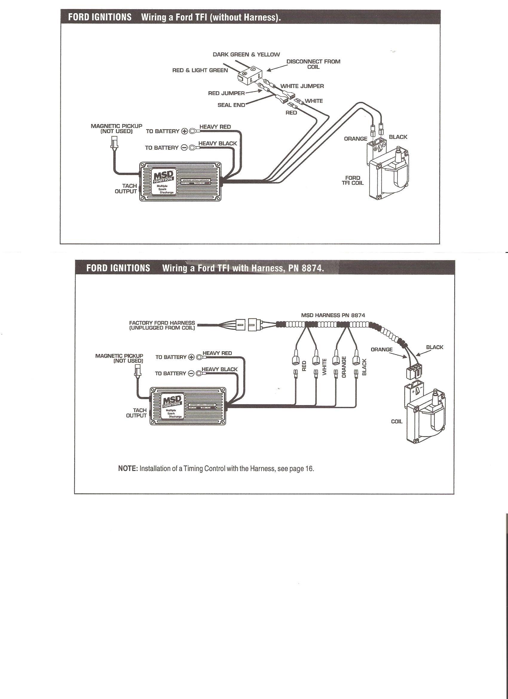 Msd 6al To Hei Wiring Diagram Wiring Msd Al on