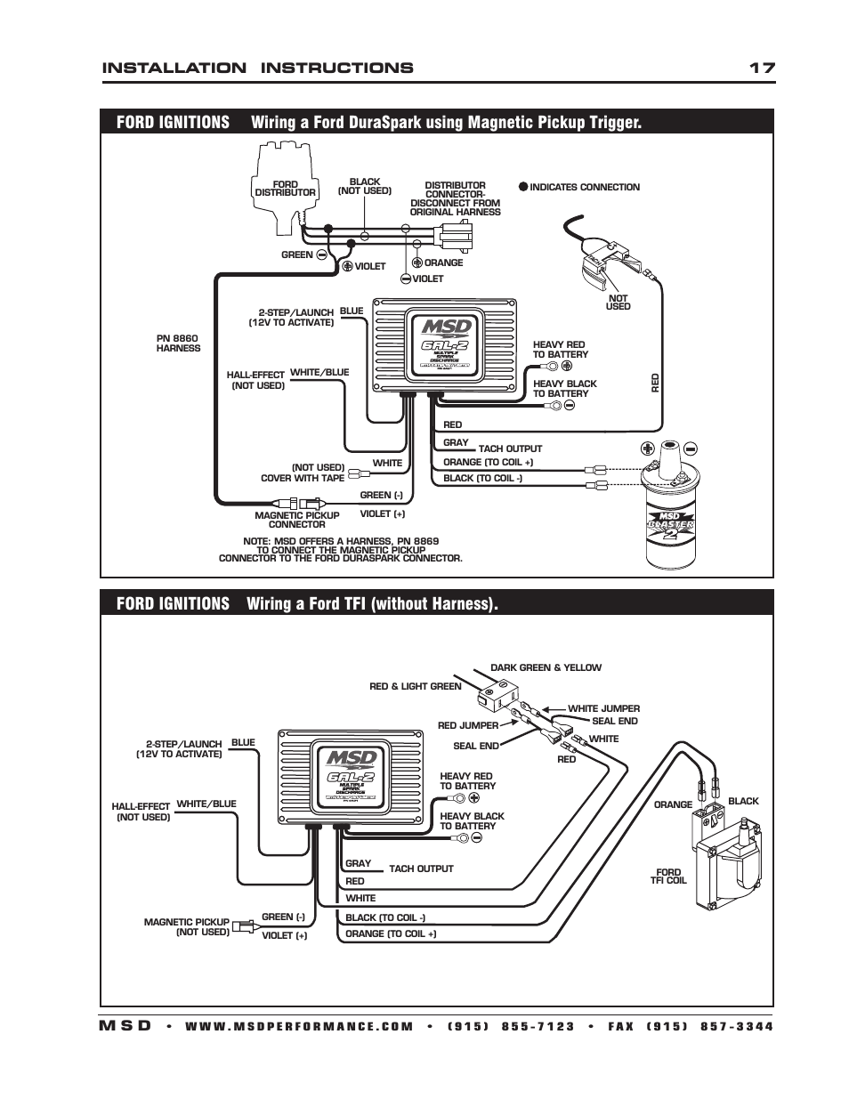 Msd Street Fire Wiring Diagram Msd Ignition Wiring Diagrams