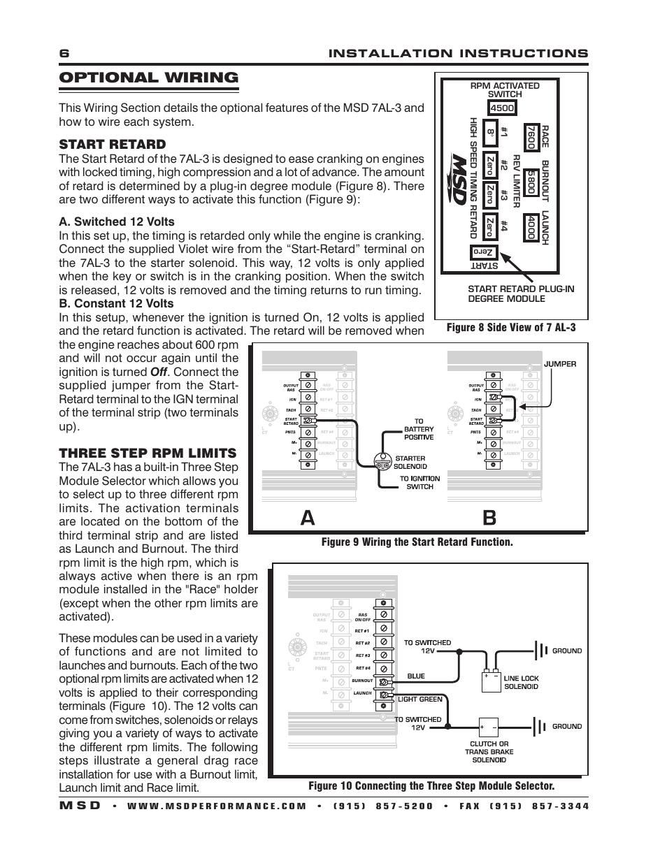 Msd 7al 2 Wiring Diagram