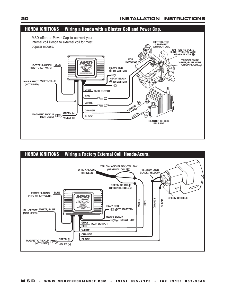 Msd 7al3 Wiring Diagram