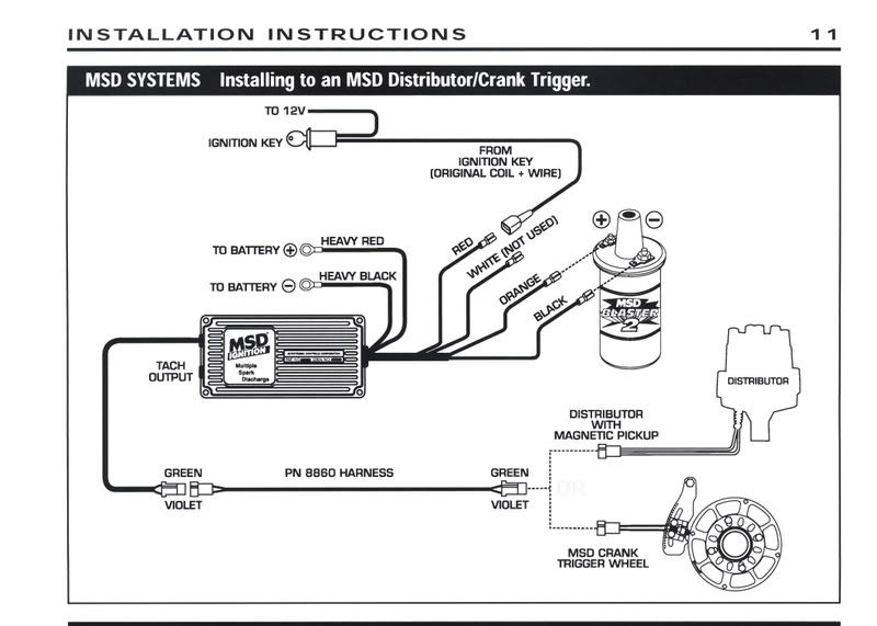 Msd Tach Adapter 8920 Wiring Diagram