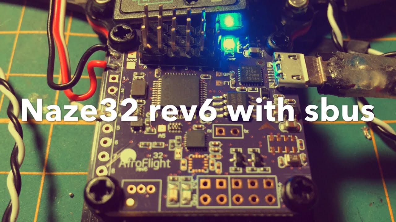 Naze32 Rev 6 Wiring