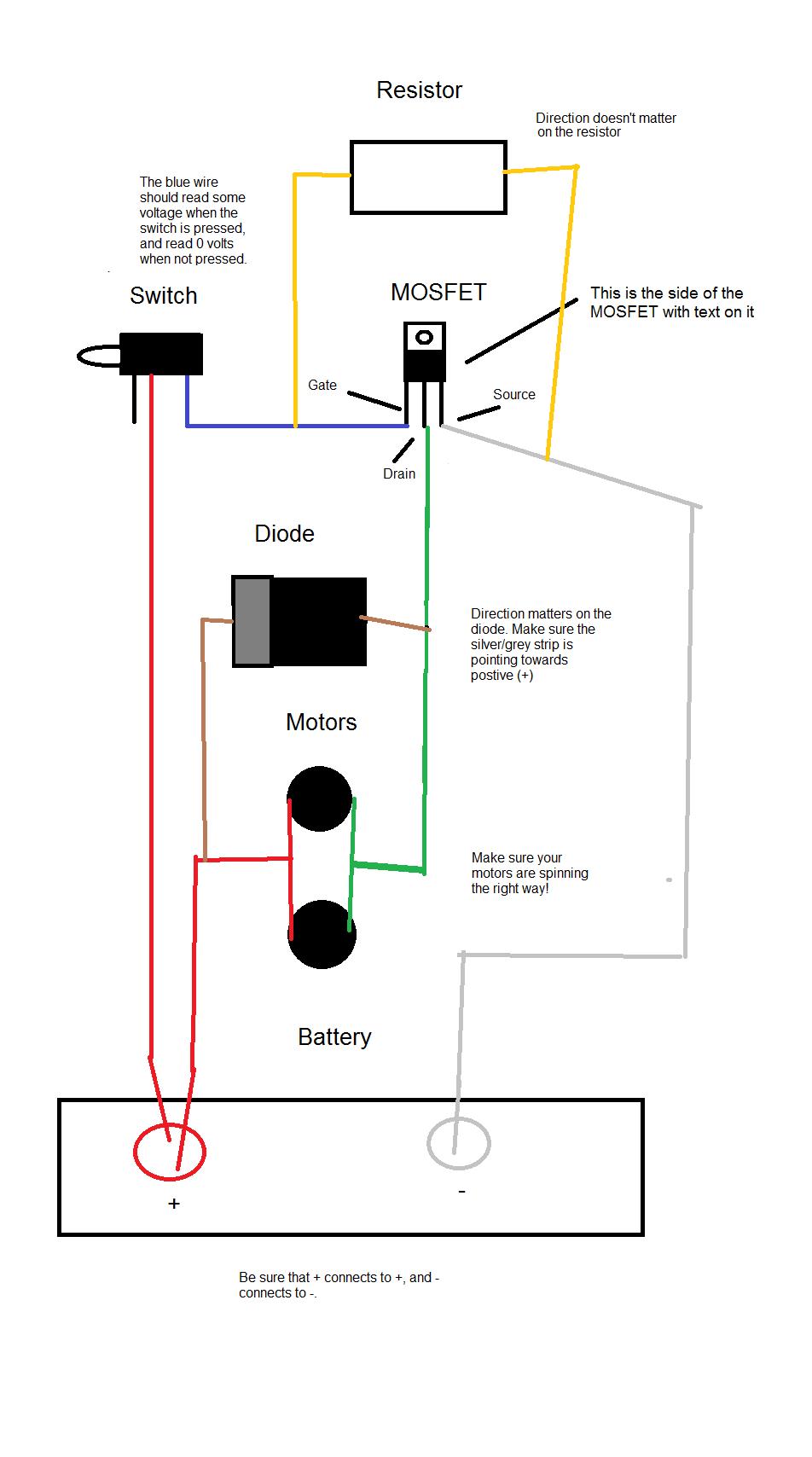 Nerf Afterburner Wiring Diagram