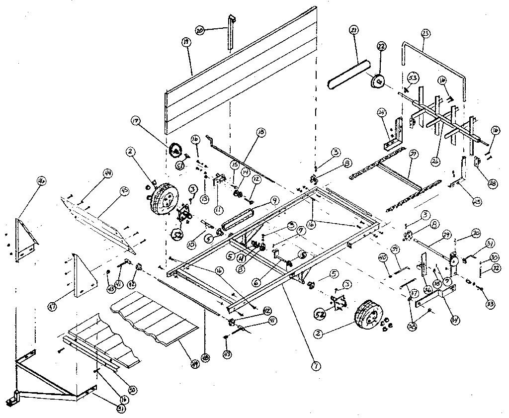 New Idea 5209 Discbine Parts Diagram