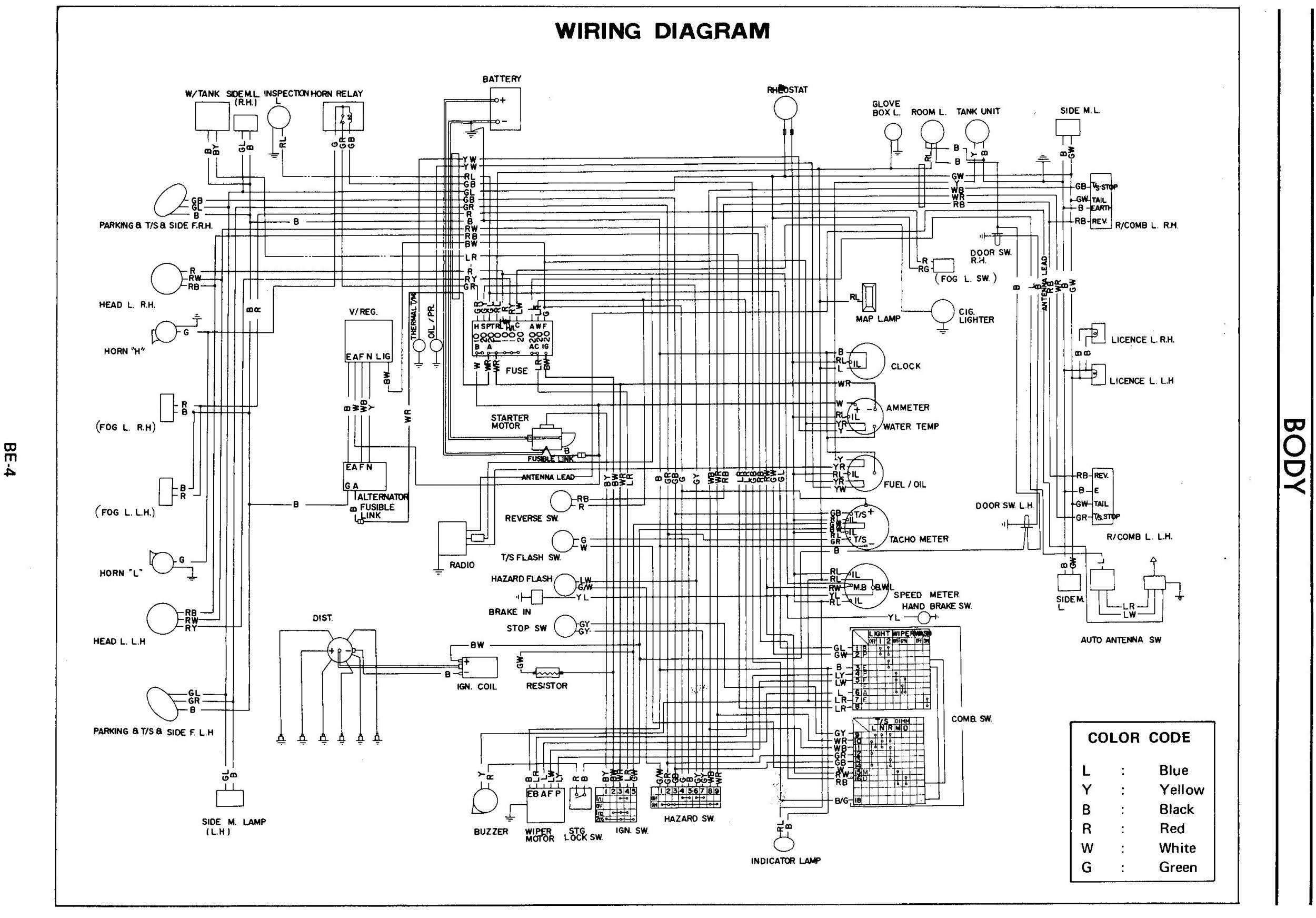 Nissan Patrol Gr Y60 Wiring Diagram