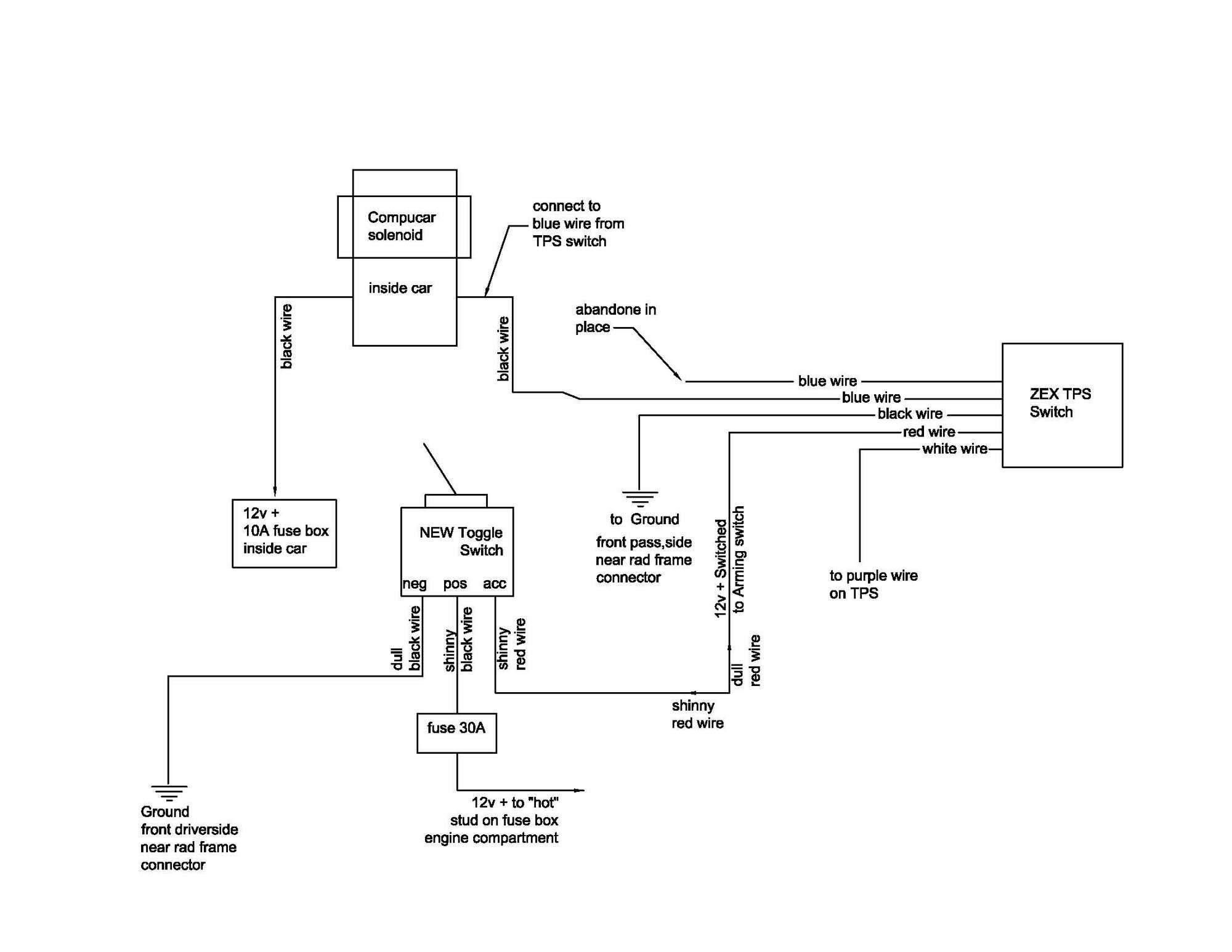 Nitrous Express Proton Kit Wiring Diagram
