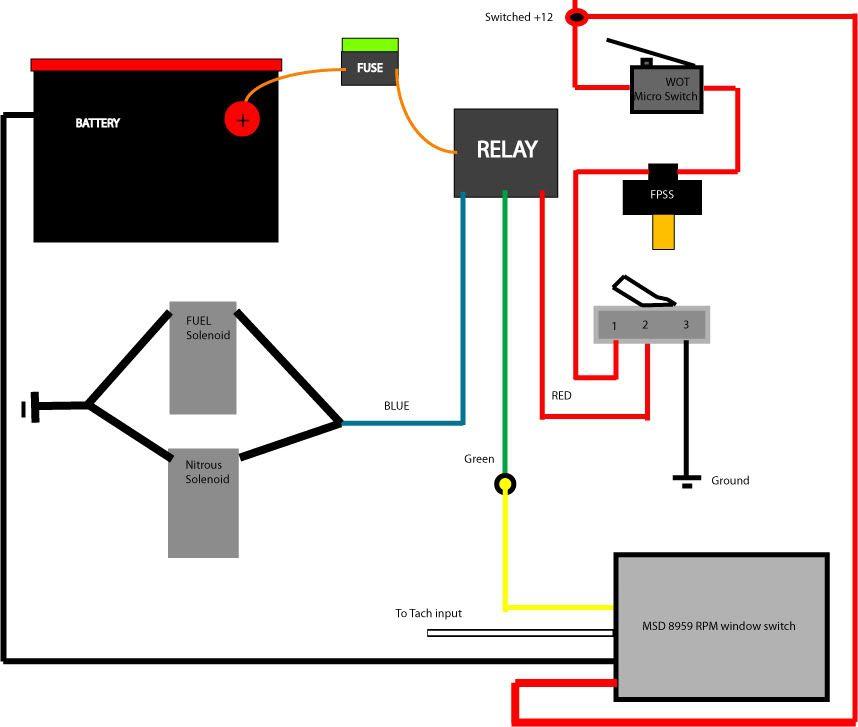 Nitrous Wiring Diagram With Transbrake