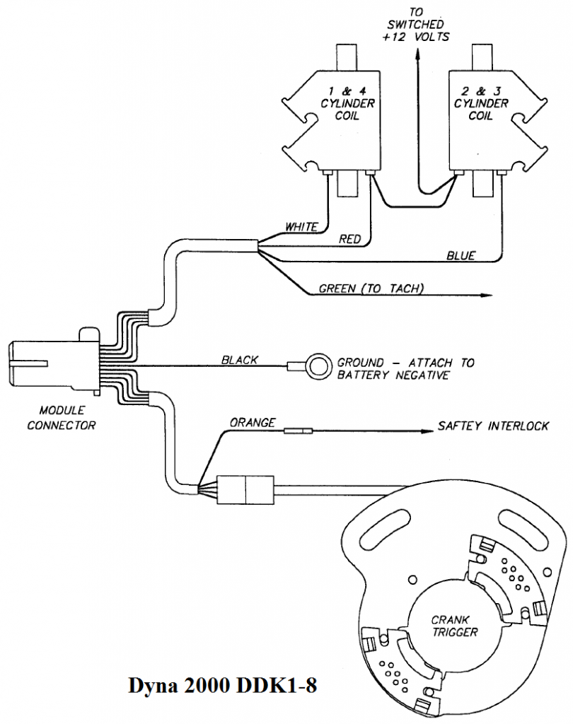 No Starter Wiring Diagram Motorcycle Dyna Electronic Ignition
