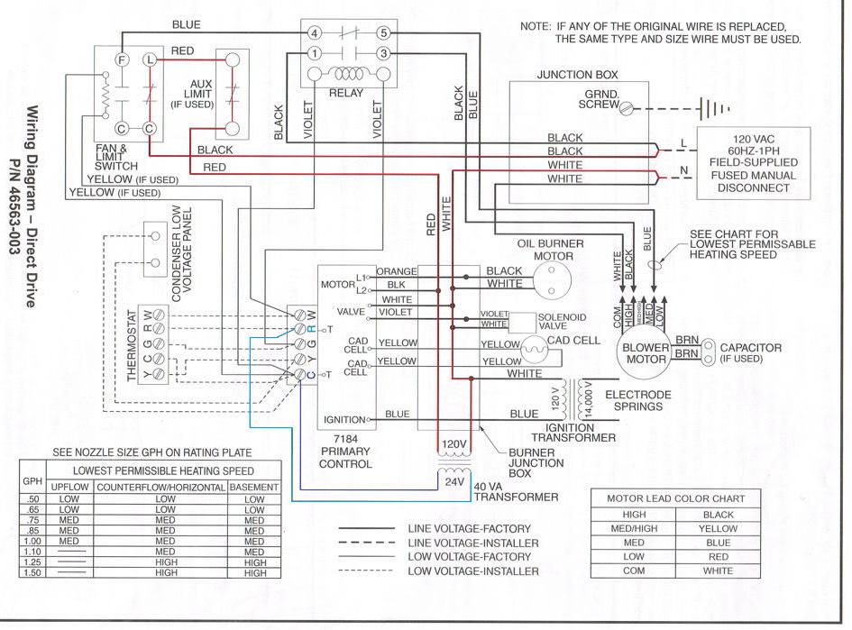 nordyne-gas-furnace-wiring-diagram-13 Nordyne Gas Furnace Wire Diagram on pilot kit, m7rl, e3eb 010h, bruner chamber, m1mb056abw burner, air intake, mobile home oil, burnner chamber,