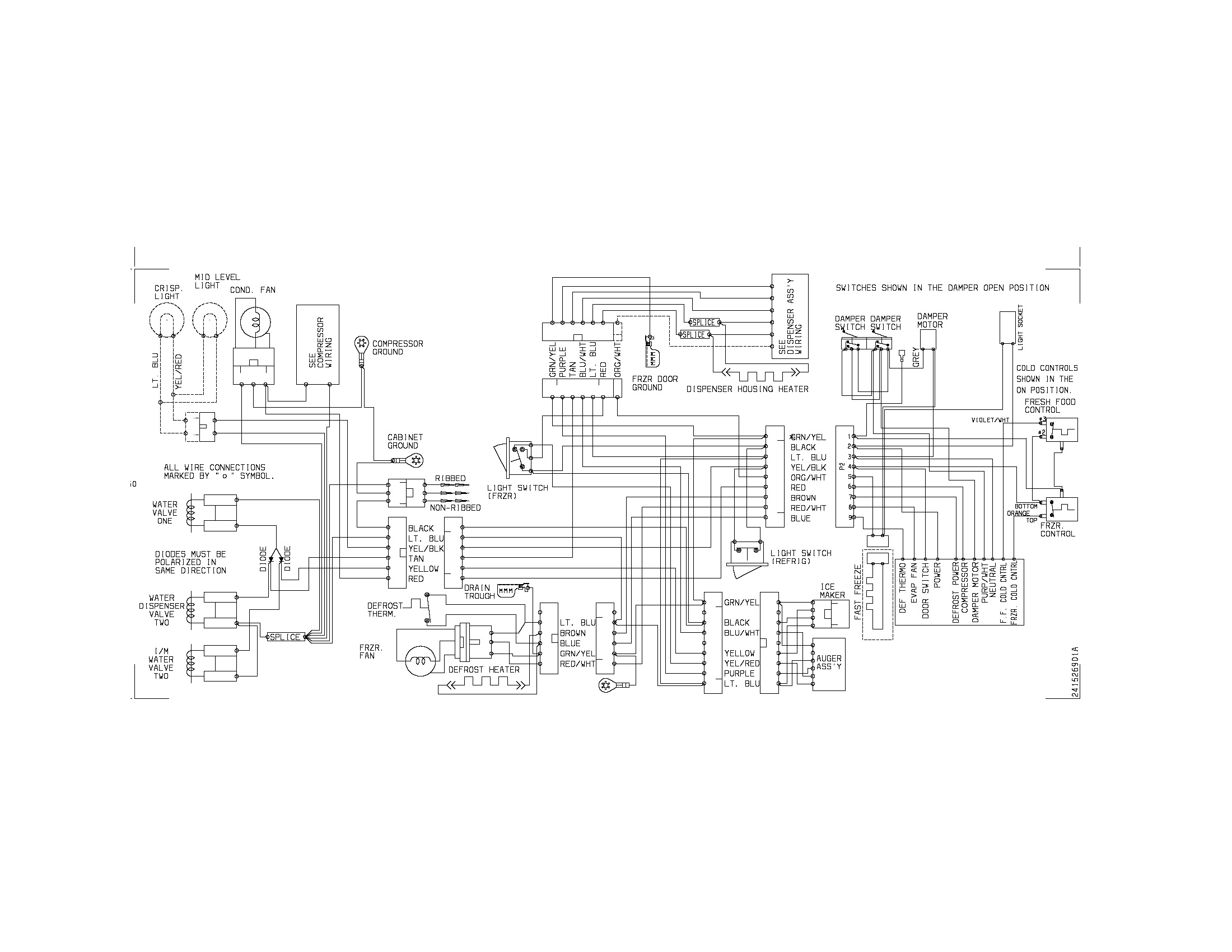 Norlake Freezer Wiring Diagram