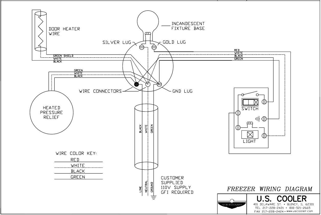 Norlake Walk In Freezer Wiring Diagram