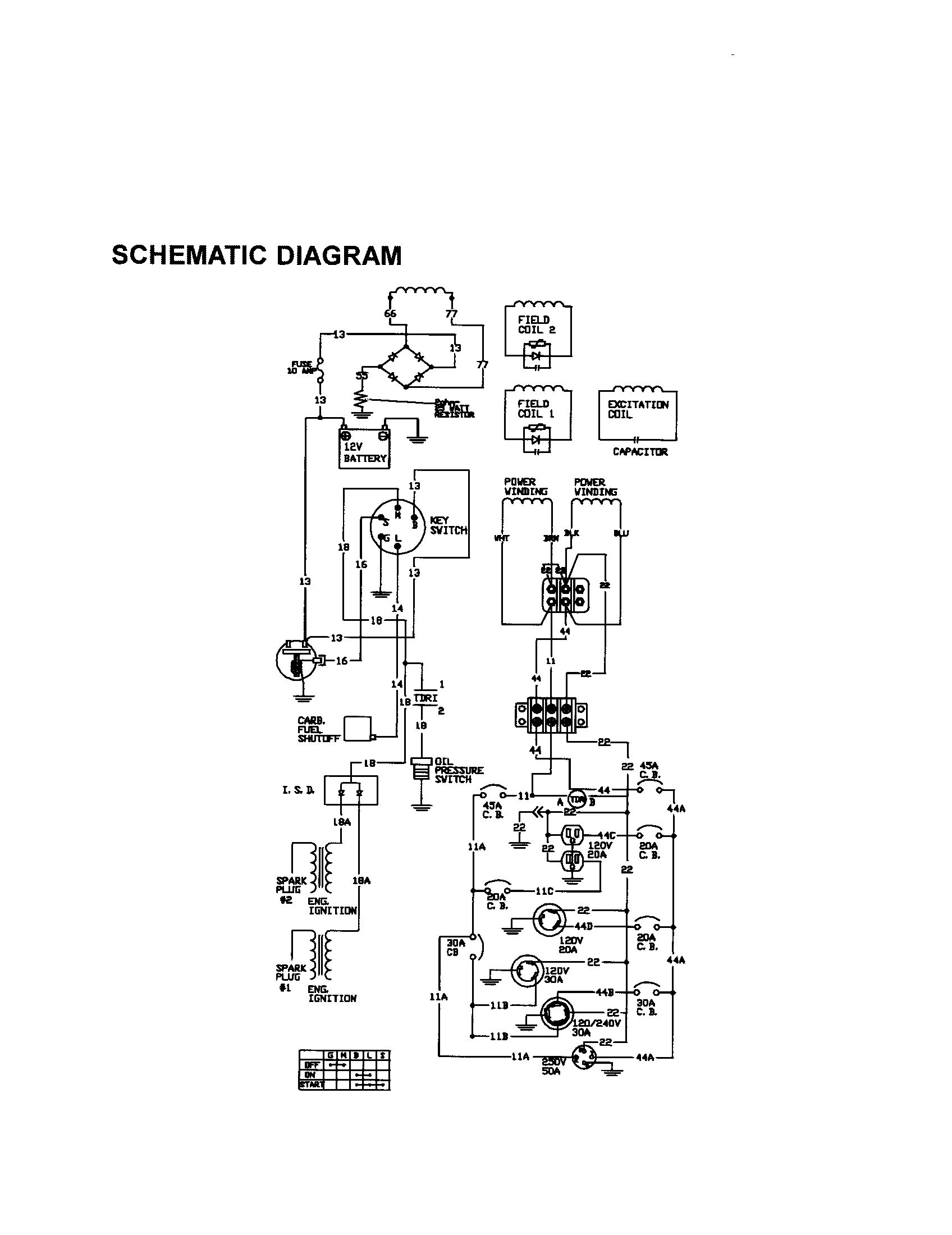 old generator generac wiring diagram 2700 watt