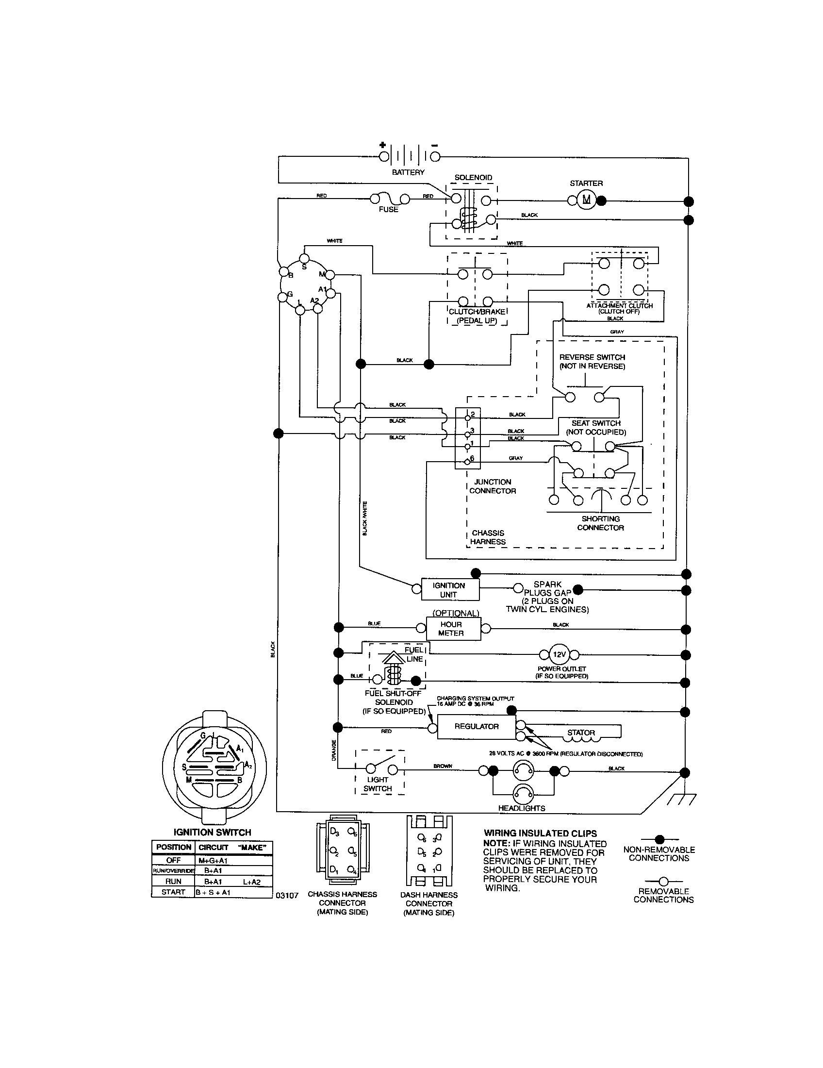Old Wheelhorse Tractor Wiring Diagram on