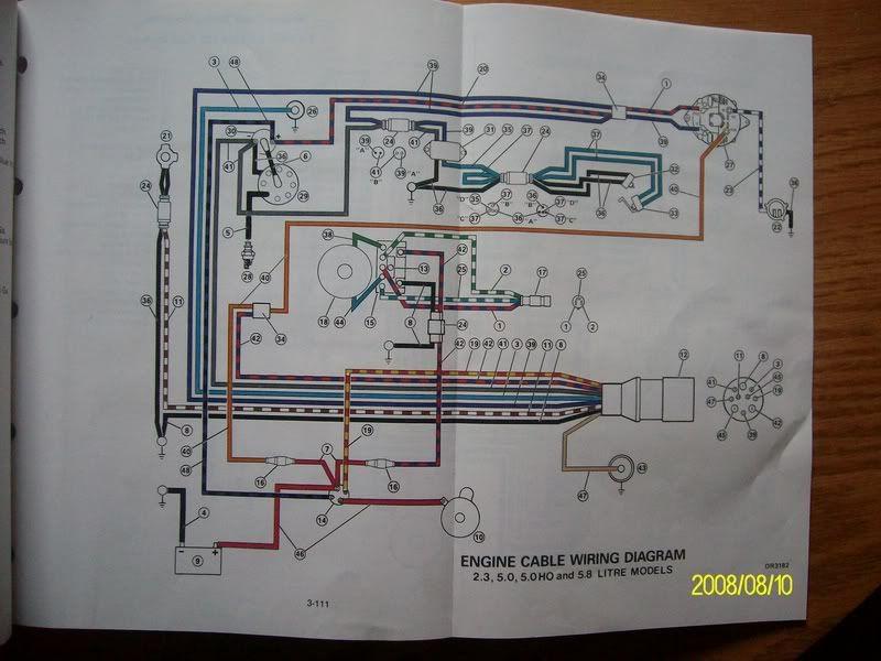 Omc 5.0 Engine Wiring Diagram Omc Sunbird Trim Wiring Diagram on