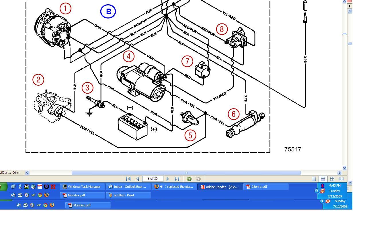Omc 7 5l Inboard Engine Wiring Diagram