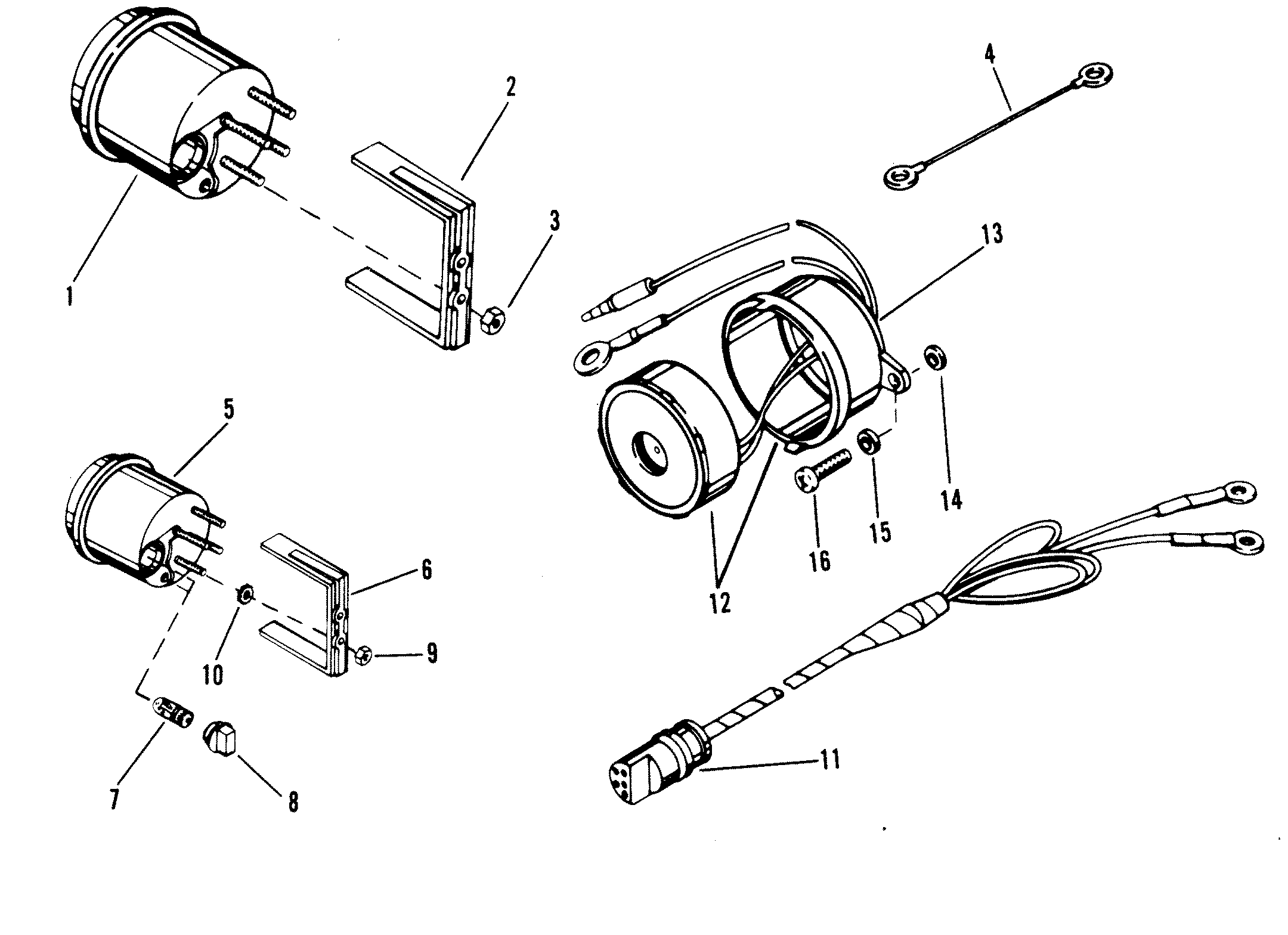 omc trim gauge wiring diagram