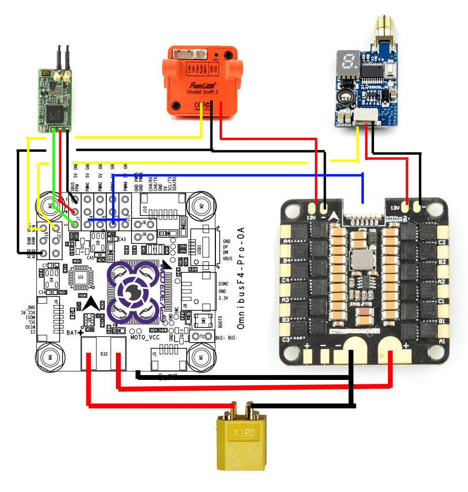 Omnibus F4 Wiring Diagram