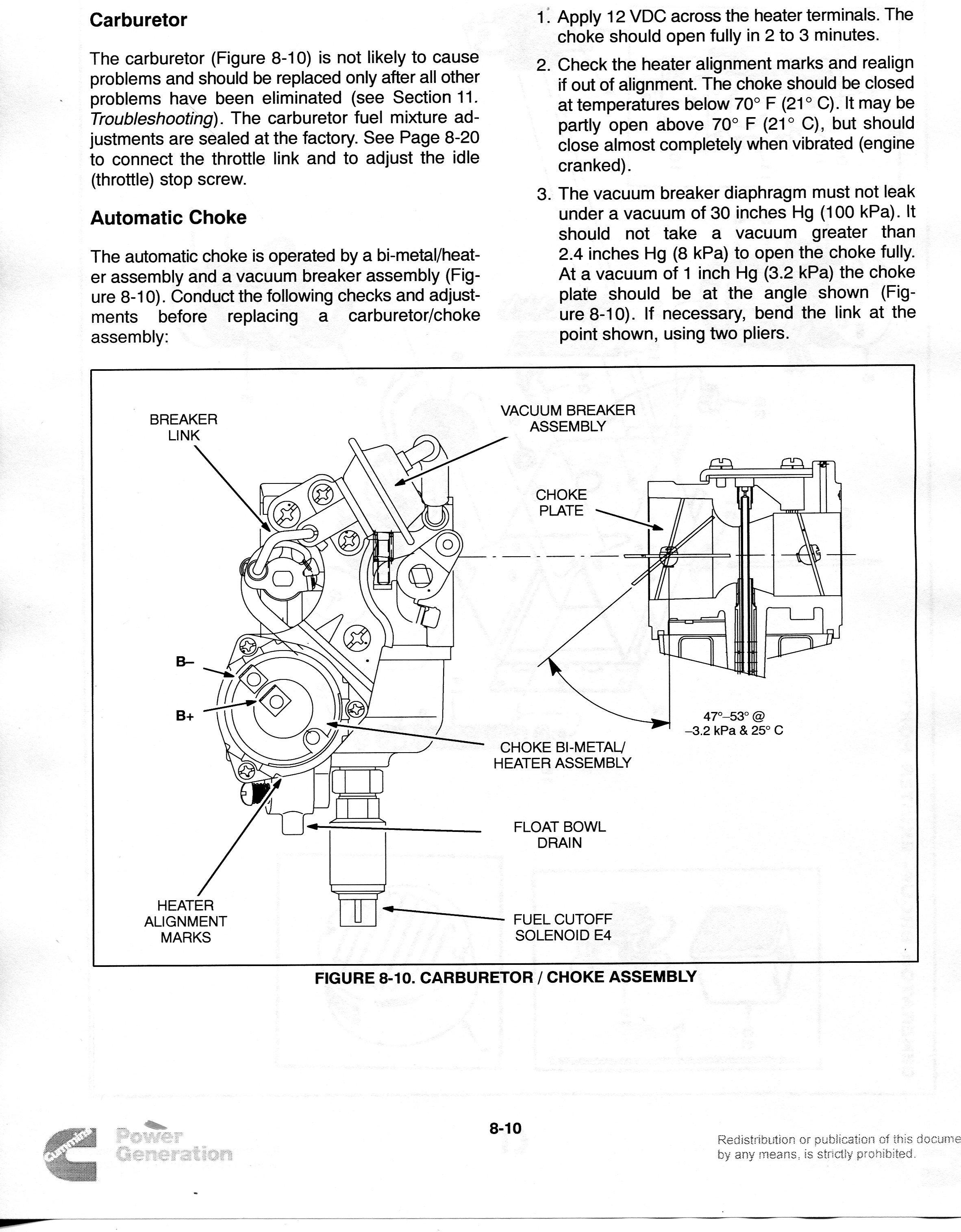 onan 4000 carburetor diagram