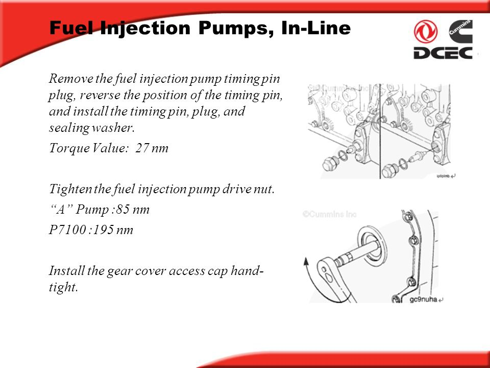 P7100 Pump Diagram