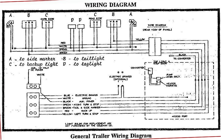 schema electrical wiring diagram for camper full version hd