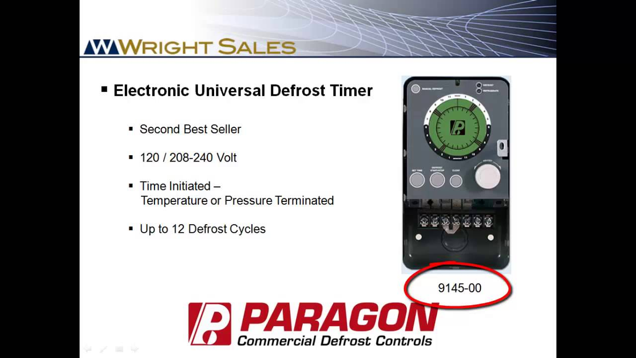 Paragon 8145 20 Defrost Timer Wiring Diagram