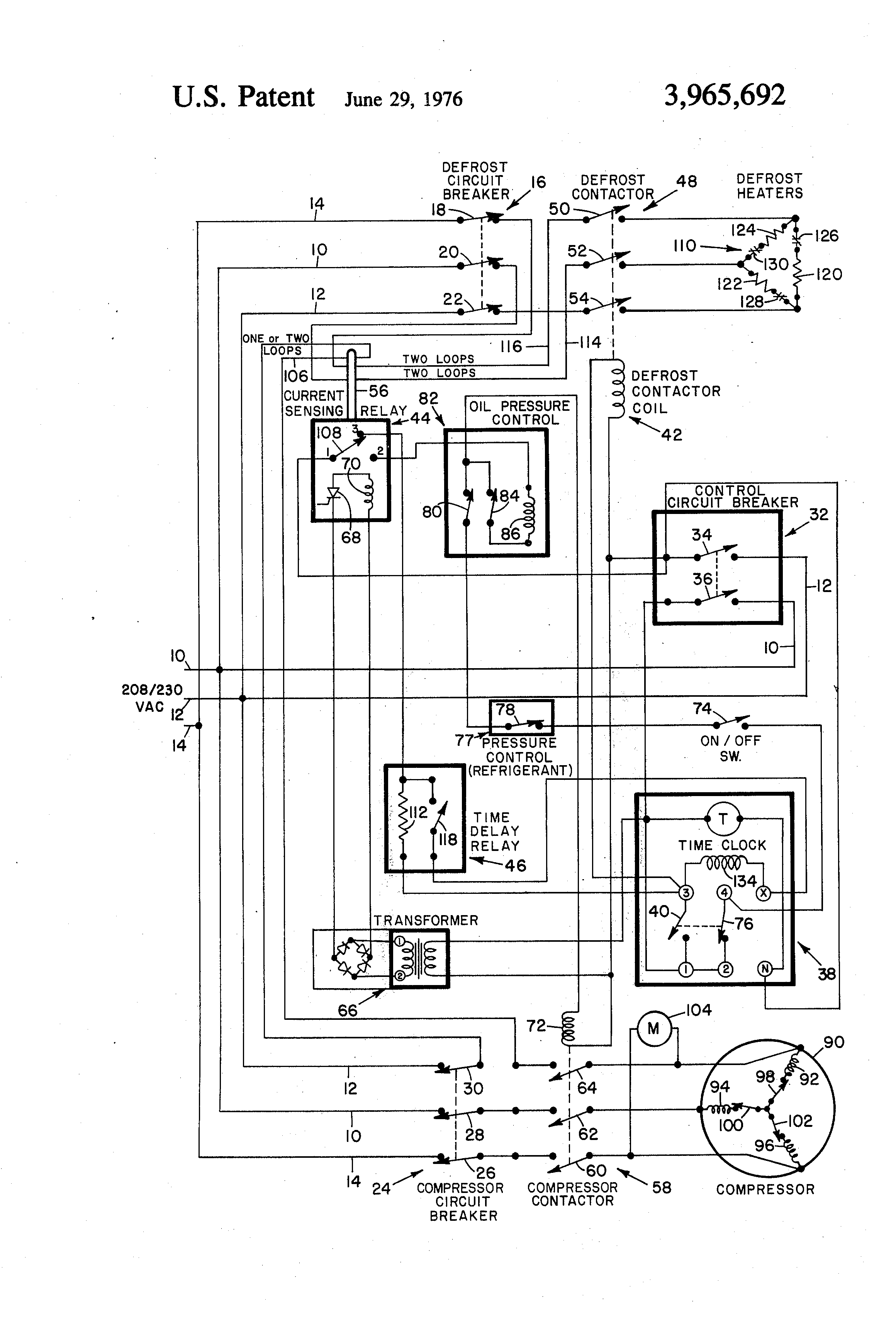Paragon 8145 20 Defrost Timer Wiring Diagram The