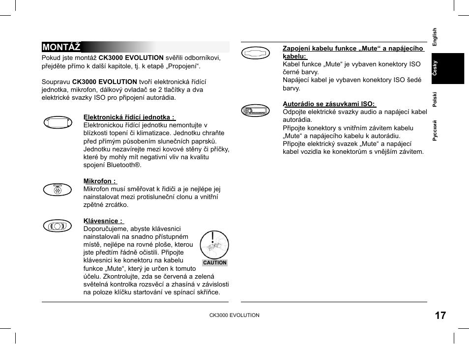 Parrot Ck3000 Evo Wiring Diagram