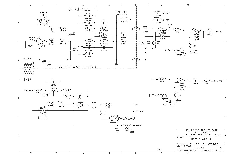 peavey wiring diagrams 6 1 sandybloom nl \u2022peavey xr 600c wiring diagram  rh schematron org