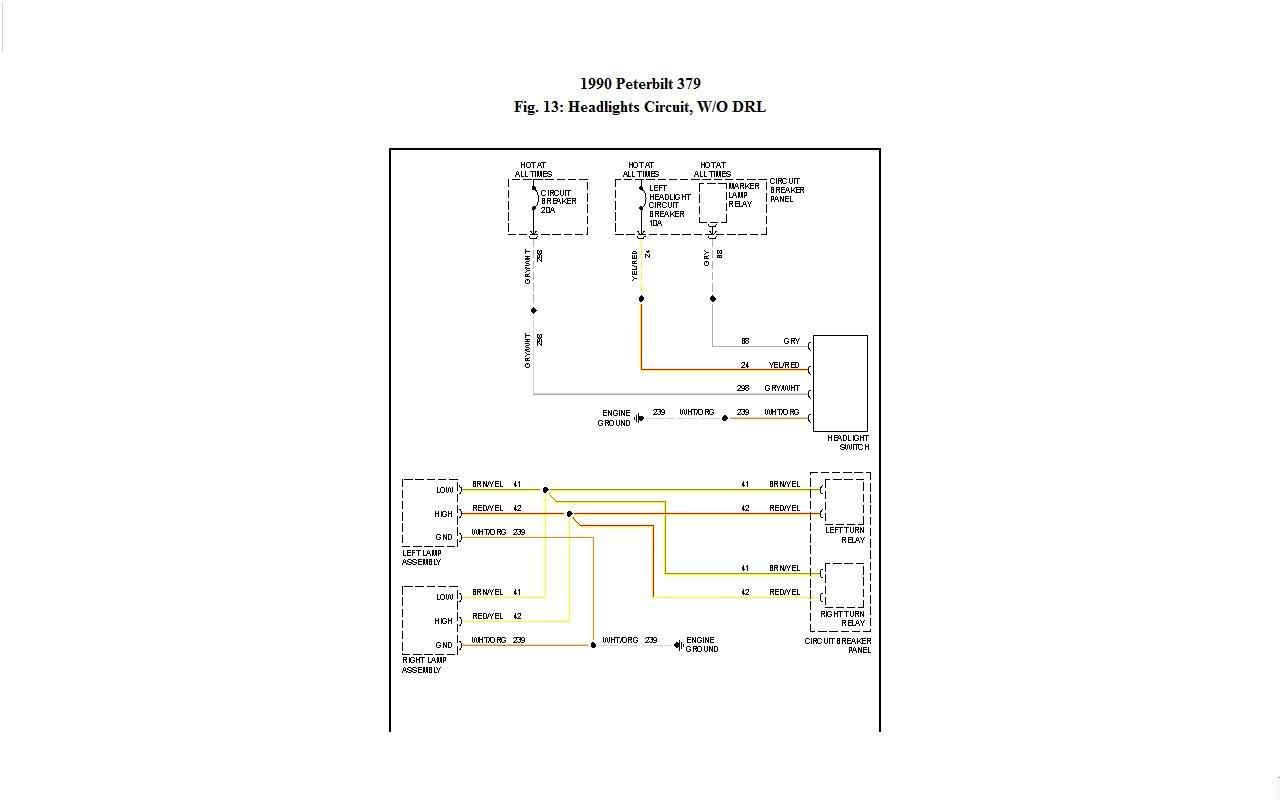 Peterbilt 389 Fuse Panel Diagram