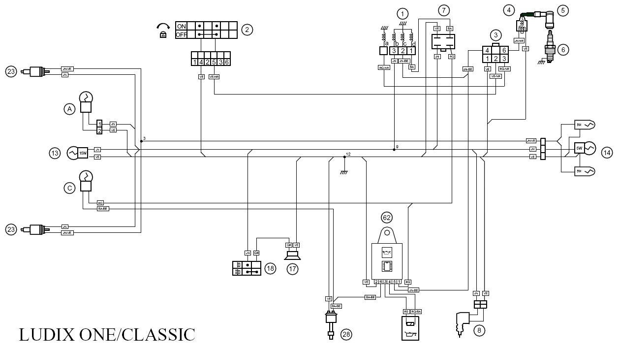 Peugeot Ludix Wiring Diagram