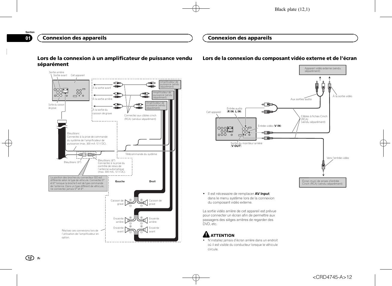 pioneer avh  wiring harness diagram
