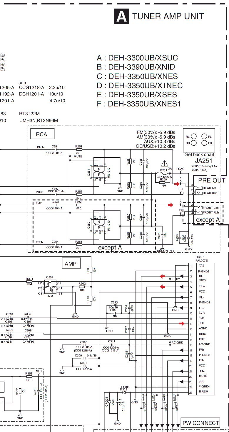 Pioneer Deh-150Mp Wiring Diagram from schematron.org