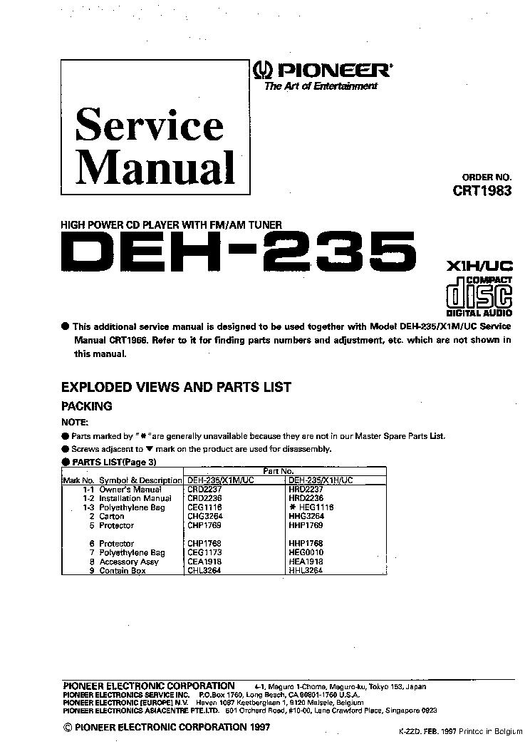 DIAGRAM] Wiring Diagram Pioneer Deh 5200hd FULL Version HD Quality Deh  5200hd - DIAGRAMCONNECTION.K-DANSE.FRK-danse.fr