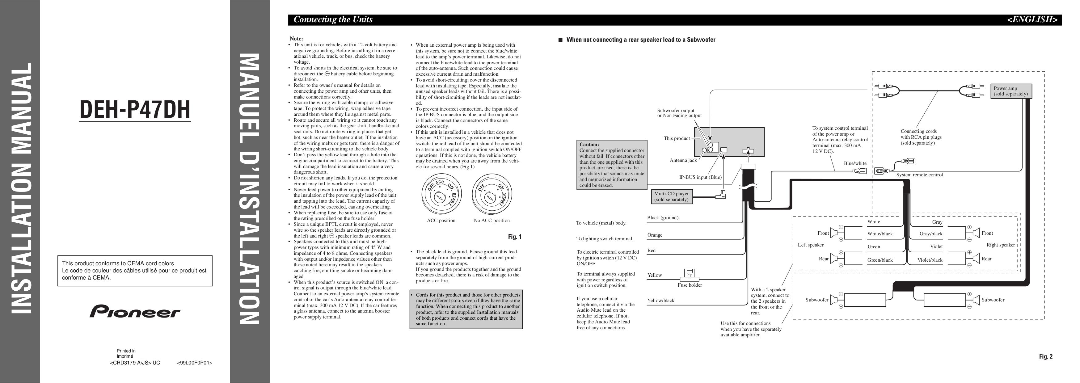Pioneer Deh X65Bt Wiring Diagram from schematron.org
