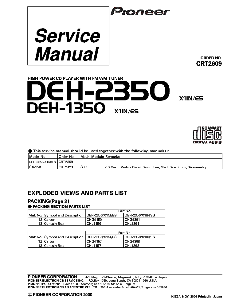 DIAGRAM] Wiring Diagram Pioneer Deh P5900ib FULL Version HD Quality Deh  P5900ib - MA6116ASCHEMATIC9610.CONCESSIONARIABELOGISENIGALLIA.ITconcessionariabelogisenigallia.it