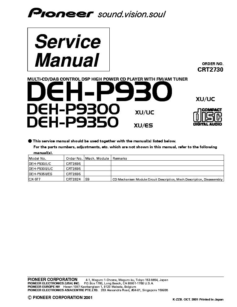 Pioneer Deh-X4900Bt Wiring Diagram from schematron.org