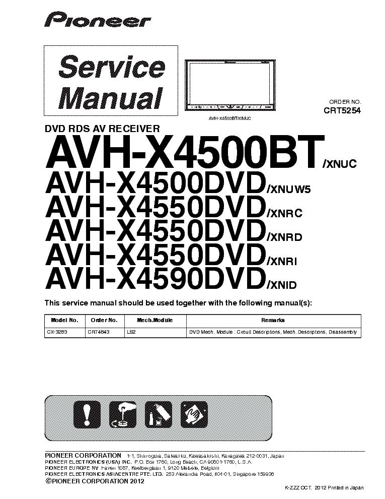 Wire Diagram Pioneer Deh P6700mp Full, Pioneer Avh P3200bt Wiring Diagram